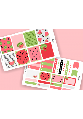 Watermelon Mini Sticker Kit