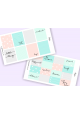Geometric Pastel Weekly Sticker Kit