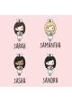 Sick Sarah Stickers