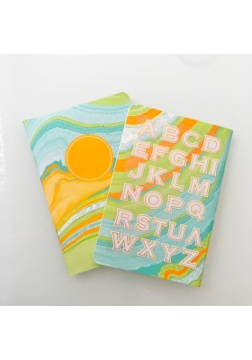 Monogram Mini Notebook