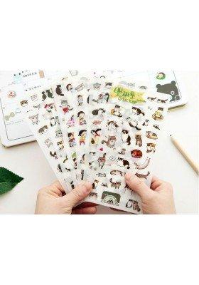 Clear Cat Sticker Pack