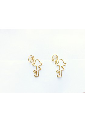 2pk Flamingo Paper Clips
