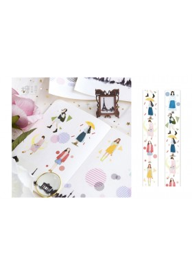 Girls Wide Washi (4cm)