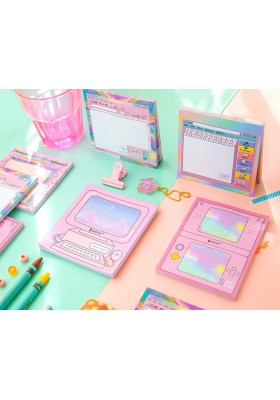 Kawaii Pink Notepad