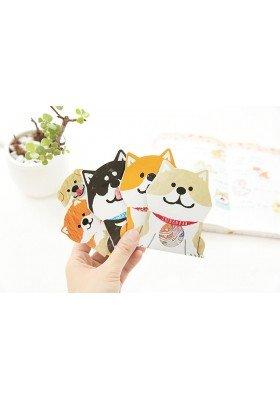 Shiba Inu Sticker Flakes