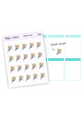 Assorted Samantha Stickers (blonde)