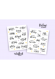 I Adulted – I Refuse to Adult Stickers