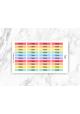 Rainbow Header Stickers