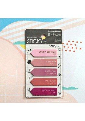 CMYK Pink Sticky Notes