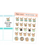 Assorted Brown Sugar the Bunny Stickers