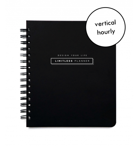 DYL®: Limitless Planner (vertical hourly layout)