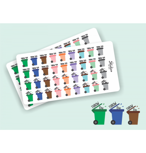 Garbage Day Stickers