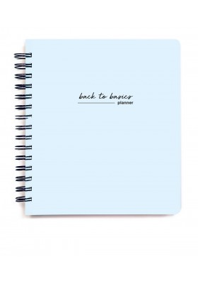 Back to Basics Planner - Undated