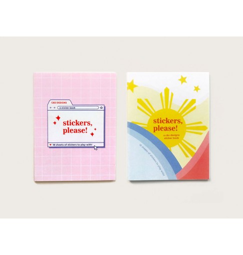 Sticker Book BUNDLE