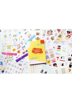 Stickers, Please! Sticker Book