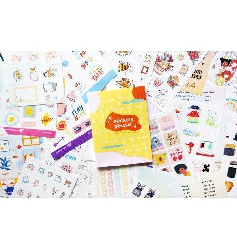 Stickers, Please! Sticker Book